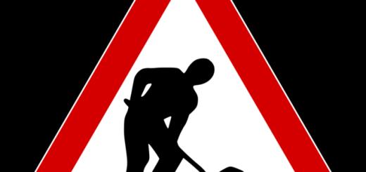 segnale stradale lavori stradali