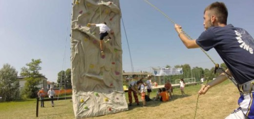 arrampicata studenti