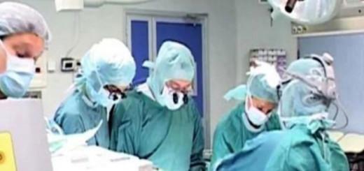 intervento chirurgico in sala operatoria